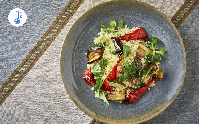 Bulgurový salát s grilovanou zeleninou