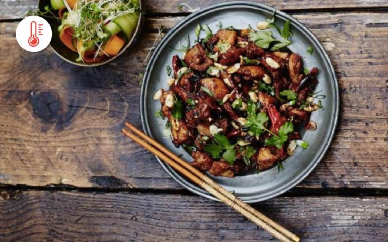 Sečuánské kuře s rýží od kuchaře ze Sečuánska