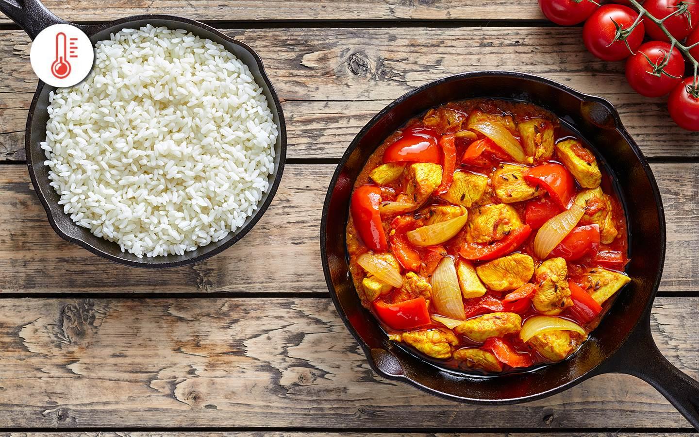 Chicken chilli s basmati rýží