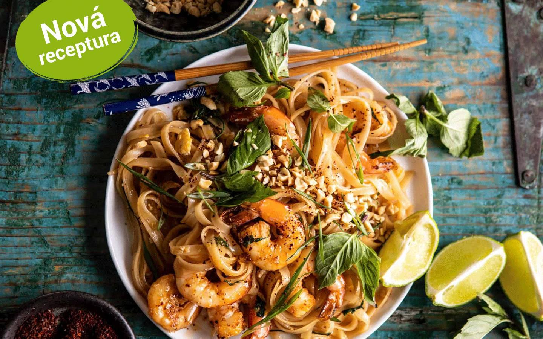 Pad Thai s krevetami (Shrimps)