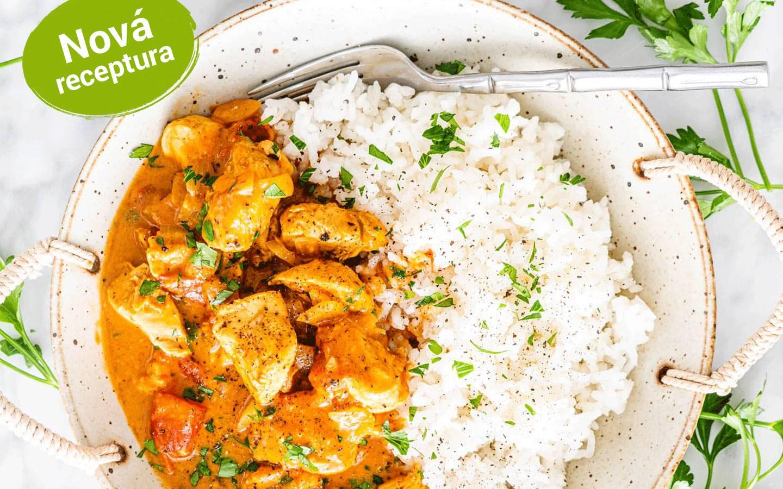 Burmese chicken curry s jasmínovou rýží od kuchaře z Barmy